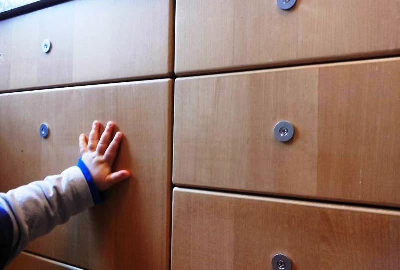 Applicazione dei blocchi magnetici ai cassetti