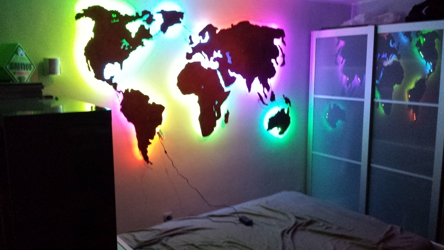 Weltkarte 3