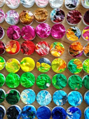 Magneti artistici colorati