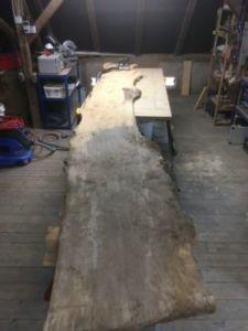 306 225x300 - Parete fotografica realizzata da una tavola di legno antica
