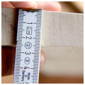 Bohrtiefe bestimmen 300x300 - Ceppo per coltelli - Istruzioni